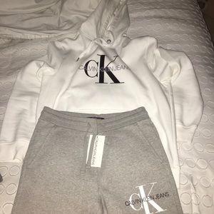 Calvin Klein Sweatsuit!